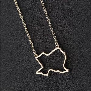 Jewelry - 5/$25 Texas Necklace!